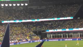 - Sep 8, 2015; Foxborough, Mass, USA; Brazil forward Neymar Jr. Vence Estados Unidos no último amistoso antes das Eliminatórias da Copa ... BRASIL 4 X 1 ESTADOS UNIDOS.Gillette Stadium, em Foxborough (EUA)