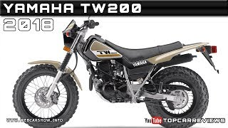 7. 2018 YAMAHA TW200 Review Rendered Price Specs Release Date