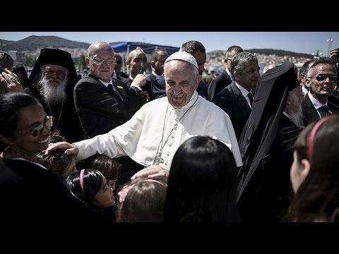 Μια νέα ζωή στη Ρώμη για τους Σύρους της Λέσβου που συνόδευσαν τον Πάπα