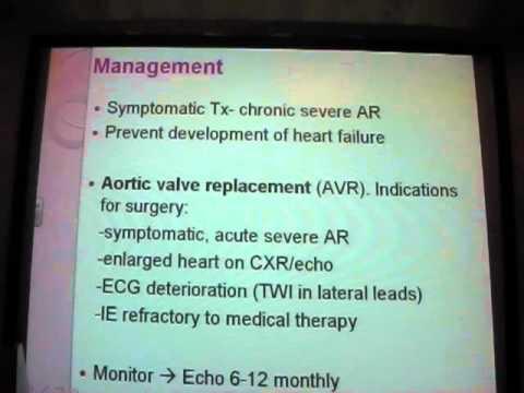 Valvular Heart Disease Lecture