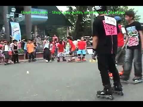 Các kiểu cách thắng Inline Skate Patin