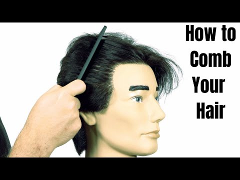 How to Comb your Hair - TheSalonGuy
