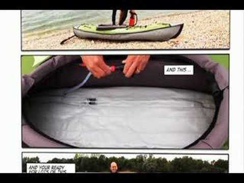 Set up your inflatable kayak