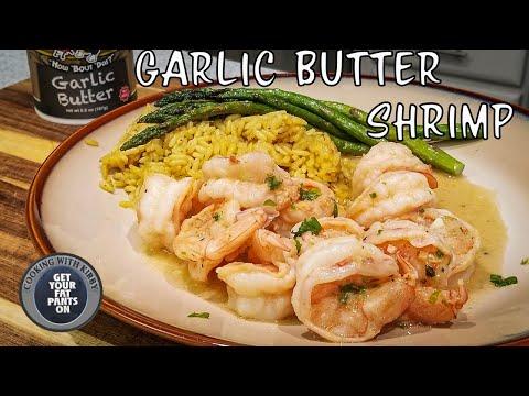 Garlic Butter Shrimp - Shrimp Scampi - Easy Recipes