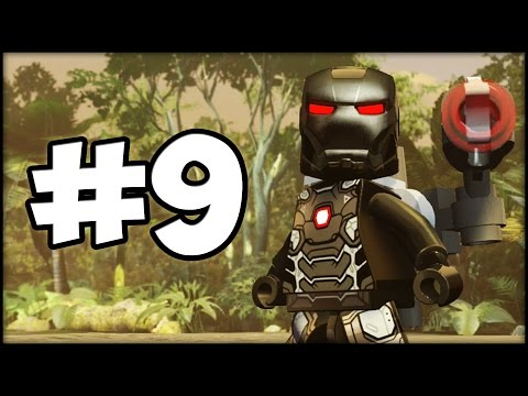 LEGO MARVEL AVENGERS - LBA - Episode 9 : Team Cap vs. Team Iron Man!