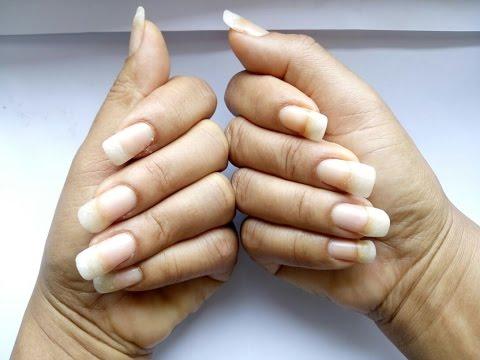 allungamento delle unghie con la farina di grano e in modo naturale!