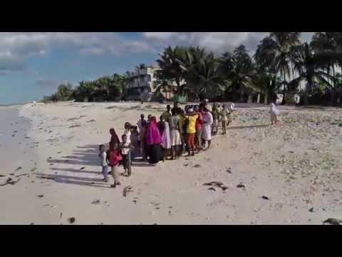 Zanzibar Neptune Pwani Beach hotel & spa 2014 GoPro + Phantom 2