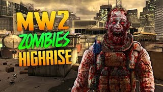 Modern Warfare 2 Zombies: Highrise (Call of Duty W@W Zombies)