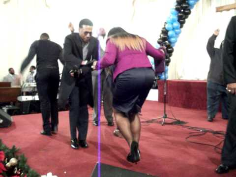 Kevin Terry & PD  at James Hall Appreciation Service ( Praise Break 2 )