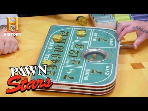 Pawn Stars: RISKY GAMBLE on Vintage Craps Table (Season 18) | History