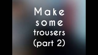 Video Tutorial menjahit celana part 2( pola/pattern) make some trousers MP3, 3GP, MP4, WEBM, AVI, FLV Juli 2018