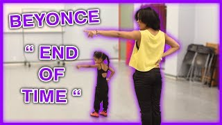 """How to Dance Like Tianne and Heaven King: Beyonce """"End of Time"""""""