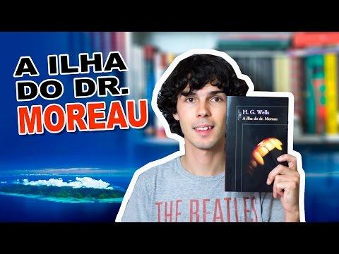 Livro A Ilha do Dr Moreau - H.G. Wells
