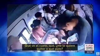 Detienen a 3 asaltantes de una combi en retén policial | Noticias con Ciro Gómez Leyva