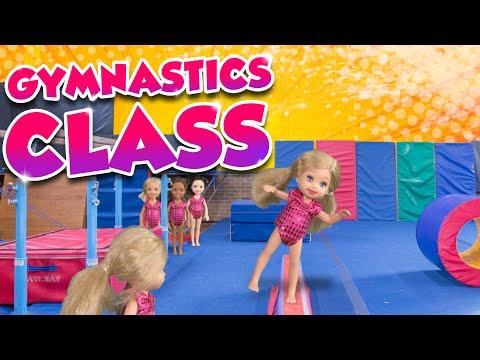 Barbie - The Twins First Gymnastics Class | Ep.136
