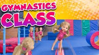 Video Barbie - The Twins First Gymnastics Class | Ep.136 MP3, 3GP, MP4, WEBM, AVI, FLV April 2018
