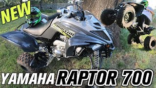 4. 2019 Yamaha Raptor 700 ATV - Best Trail Riding Four Wheeler