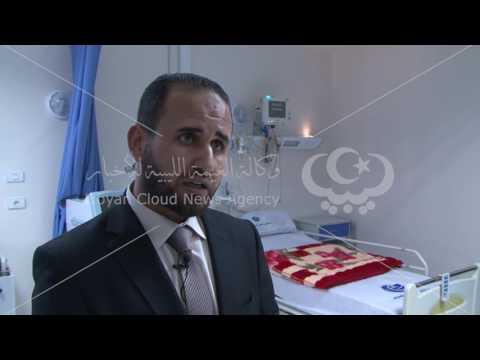افتتاح قسم العناية الفائقة بمستشفى الخمس التعليمي