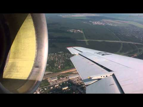 While flying through Soviet Union's...