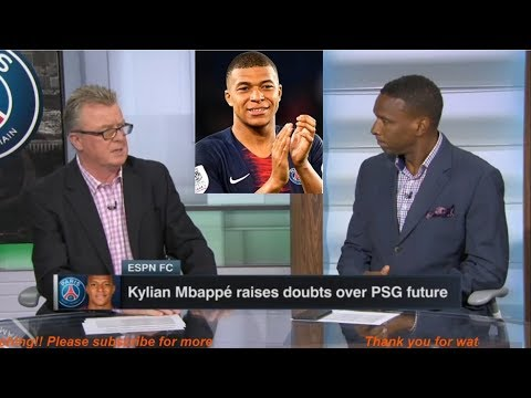ESPN FC | Kylian Mbappé raises doubts over PSG future - Steve Nicol & Shaka Hislop HEATED DEBATE