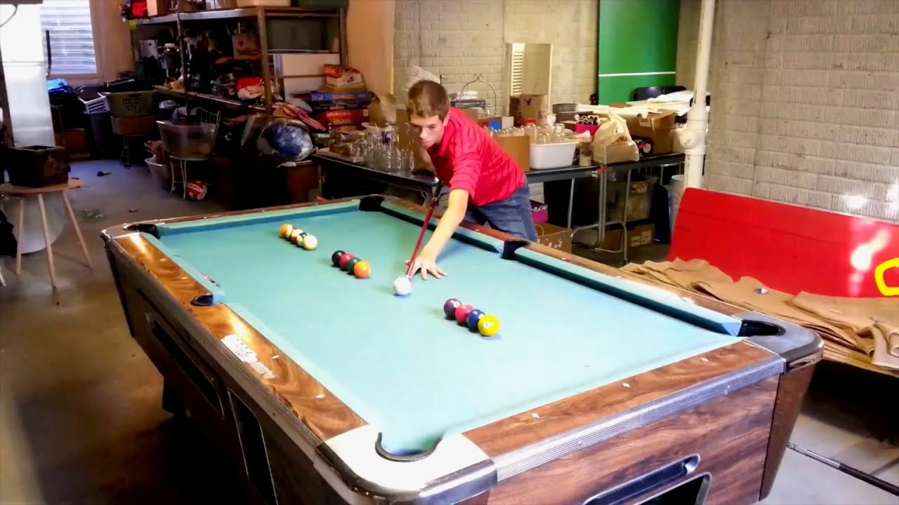 Amazing pool trick shots!