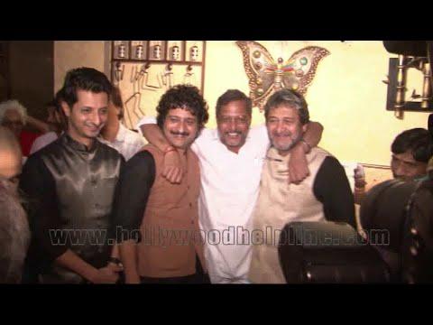 Premiere Of Nana Patekar Film Natsamrat