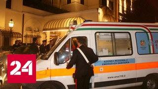 В Италии автобус с детьми врезался в столб и загорелся, погибли 4 человека