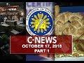News (October 17, 2018) PART 1
