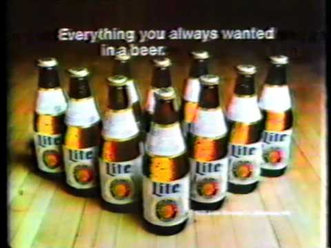 Lite Beer from Miller commercial (with Don Carter)
