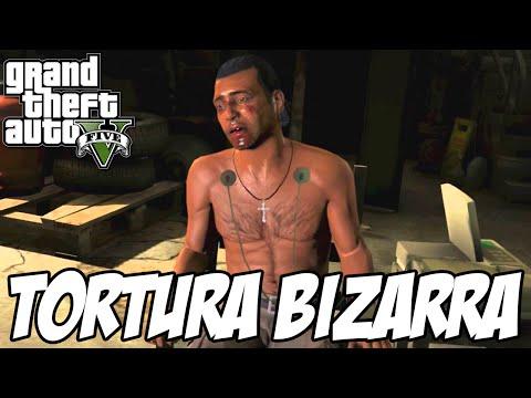 GTA V - TORTURA BIZARRA
