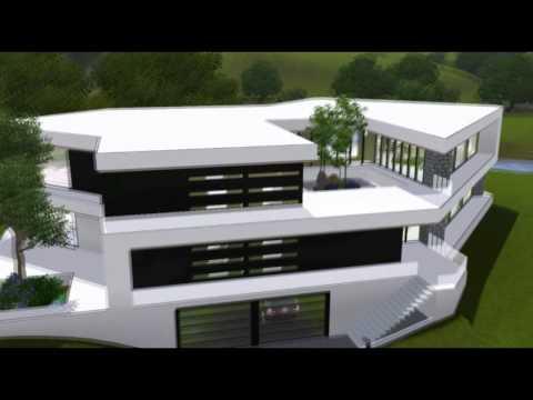 Sims 3 häuser zum nachbauen luxus  Villa bauen O: Sims 3