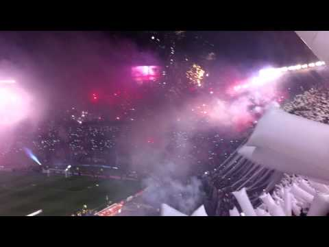Video - Recibimiento histórico River 3 Tigres 0 final Copa Libertadores 2015 - Los Borrachos del Tablón - River Plate - Argentina