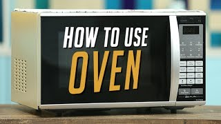Learn How To Use An Oven, be it an OTG or a Convection Microwave as explained by our Chef Upasana Shukla in Basics of ...