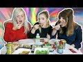 REALTIME SUSHI MUKBANG ∙ Met Rebecca & Sharon | Kristina K ❤