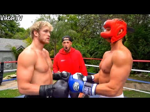 Logan Paul VS Ivan Drago Full Fight