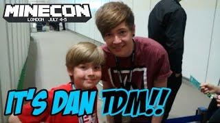 Ethan meets DanTDM at Minecon 2015!!! It's EPIC!!!!