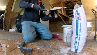 The best video of the worst job mixing of mud ever, oh yeah and Sheetrock