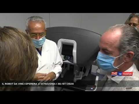 IL ROBOT DA VINCI OPERERA' A SCHIAVONIA | 30/07/2020