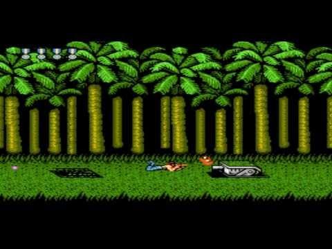 1 mạng phá đảo SUPER CONTRA 1990 konami full (NES)