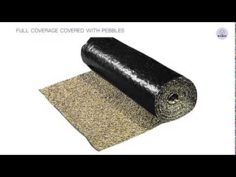 FIAP PVC Active Stone pond liner with pebbles