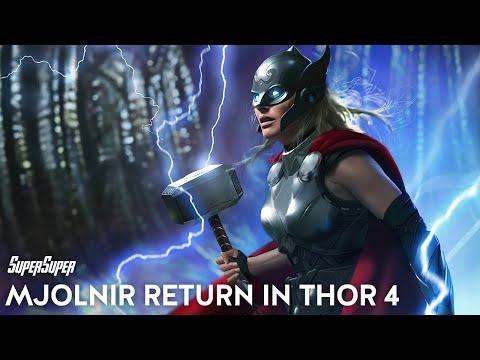 How Mjolnir Will Return in Love & Thunder   Thor 4