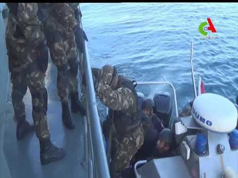 Algérie Tunisie: Voyez cette exercice militaire tactique entre les forces marines des deux pays
