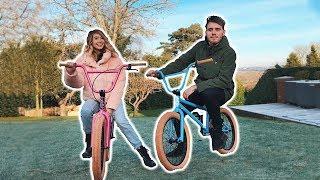 Video COUPLES CUSTOM BMX'S! [PB & Zoella] MP3, 3GP, MP4, WEBM, AVI, FLV Januari 2018