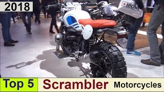 6. Top 5 Scrambler Motorcycles for 2018