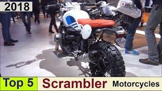 4. Top 5 Scrambler Motorcycles for 2018