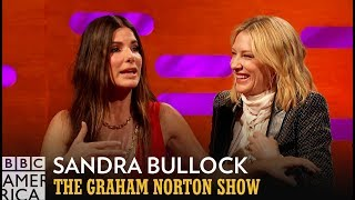Sandra Bullock On Those False Ocean's 8 Rumors - The Graham Norton Show