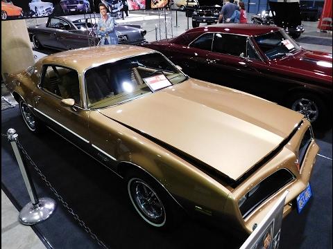 "1978 Pontiac Firebird Esprit  ""Rockford Files"" Tribute 2017 World Of Wheels Birmingham"
