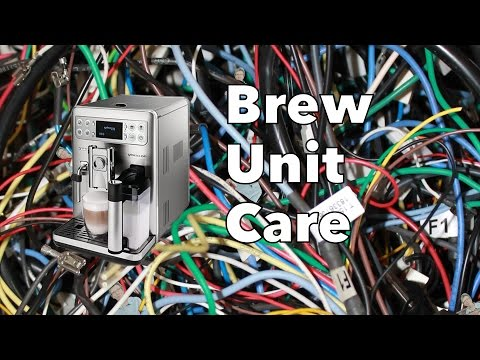 Saeco Brew Unit Care | Morning Maintenance