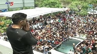 Stylish Star Allu Arjun Birthday Celebrations 2018 | TV5 News