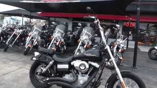 10. 333093 - 2009 Harley Davidson Dyna Street Bob FXDB - Used Motorcycle For Sale